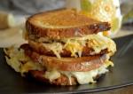 Potato Cheese Grilled Sandwich Recipe