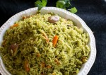 Easy Pudina Mint Pulao Recipe