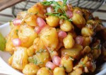 Quick Aloo Chaat Recipe