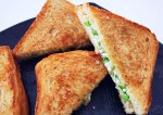 Easy Rajma and Paneer Sandwich Recipe