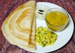 Crispy and Soft Rice and Dal Dosa Recipe