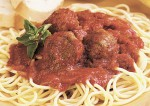 Spaghetti and Sausage Meatballs Recipe