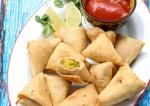 Tasty Soya Granule Samosa Recipe