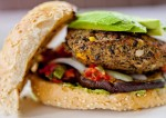 Black Bean Burger Preparation | Veggie Burger