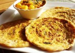 Spring Onion Stuffed Paratha Recipe