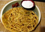 Stuffed Aloo Cabbage Paratha Recipe