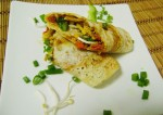 How to Make Stuffed Rolling Dosa