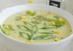 Sweet Corn and Spring Onion Soup Recipe