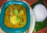 Tangy Mango Sambar Recipe