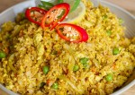 Vegan Fried Rice With Scrambled Tofu Recipe