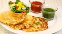 Bread Uttapam recipe