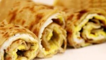 Egg Paratha Roll Recipe