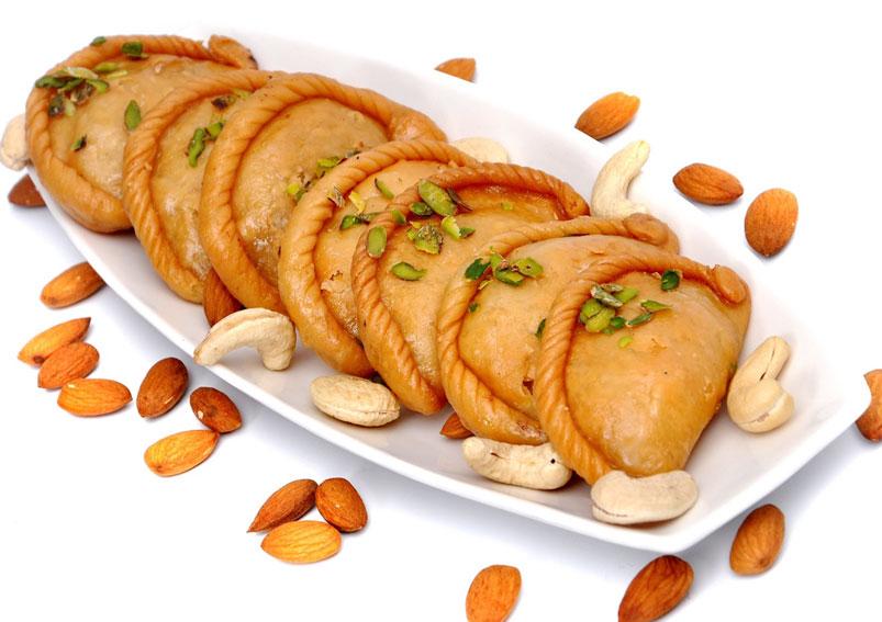 Image result for Gujiya